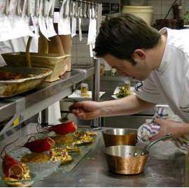 Sébastien Richard en cuisine