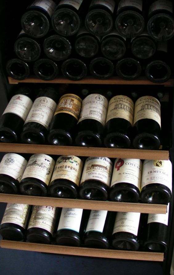 Cave à vins d'appartement