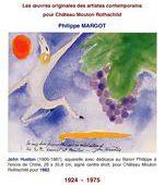ART & VIN I - Œuvres originales illustrées pour Château Mouton Rothschild - Les artistes contemporains de 1924 à 1975