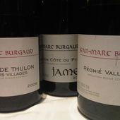 JEAN MARC BURGAUD, MORGON - Emmanuel Delmas, Sommelier & Consultant en vins, Paris
