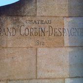CHATEAU GRAND CORBIN DESPAGNE - Emmanuel Delmas, Sommelier & Consultant en vins, Paris