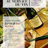 LE VIN & SON SERVICE - LE NOUVEAU MAGAZINE EN PDF - Sommelier & Consultant en vins, Paris