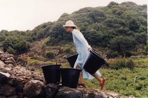 Carole Bouquet, photo protégée par copyright