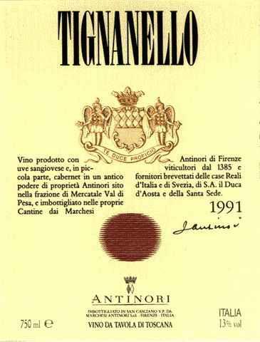 Tignanello ITALY