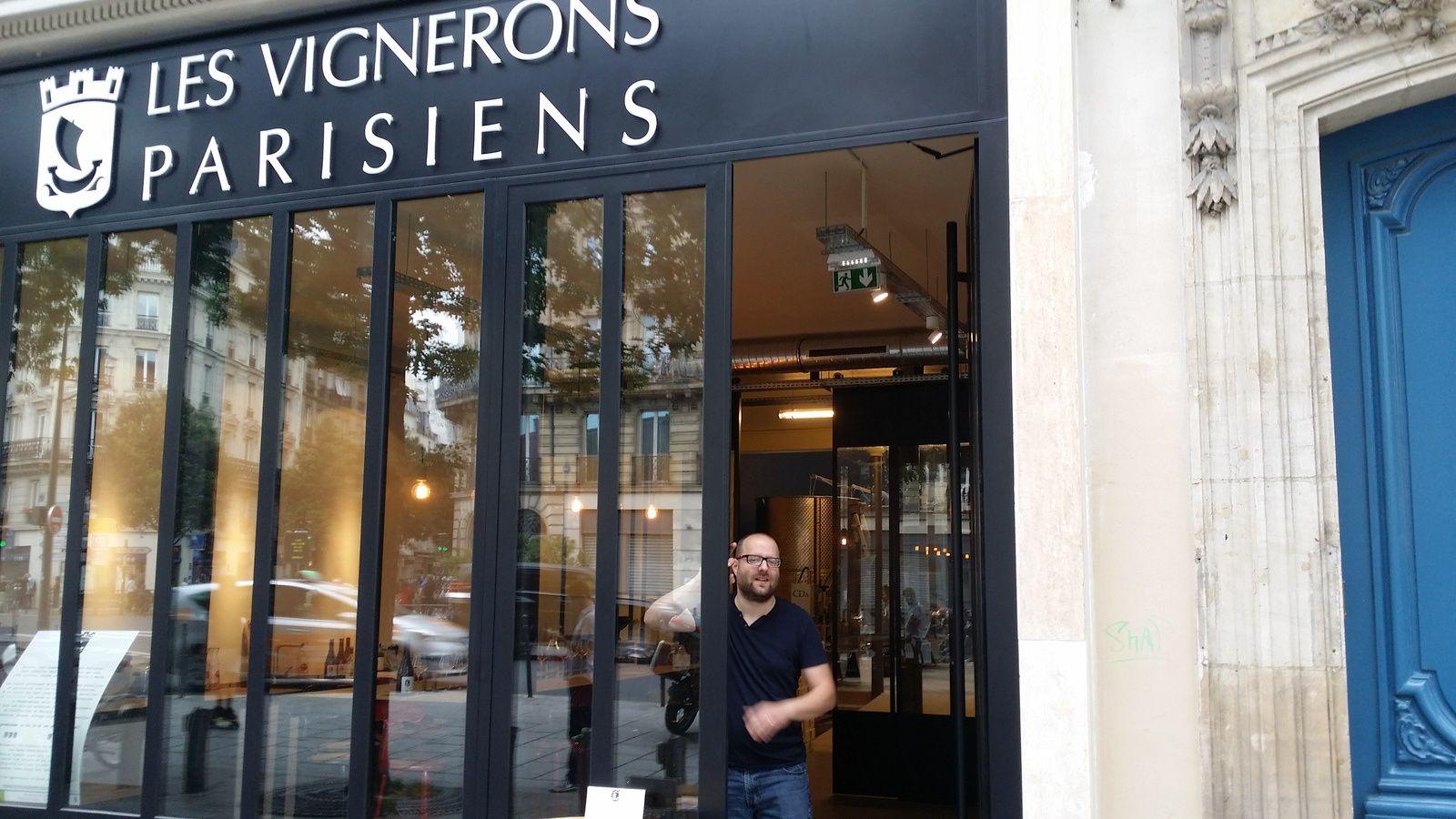 Les Vignerons parisiens, un projet un peu fou de premier chai urbain dans la capitale