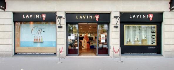 Les caves Lavinia proposent une sélection bien achalandée