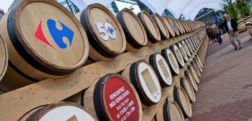 Les Foires aux Vins Carrefour se lancent le 10 Septembre cette année Photo ©Intervalles.com