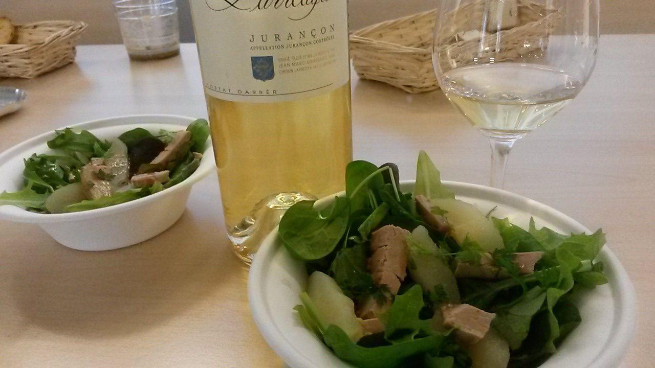 Vin moelleux et foie gras, compatibles à condition de les servir en fin de repas...photo ©E.Delmas