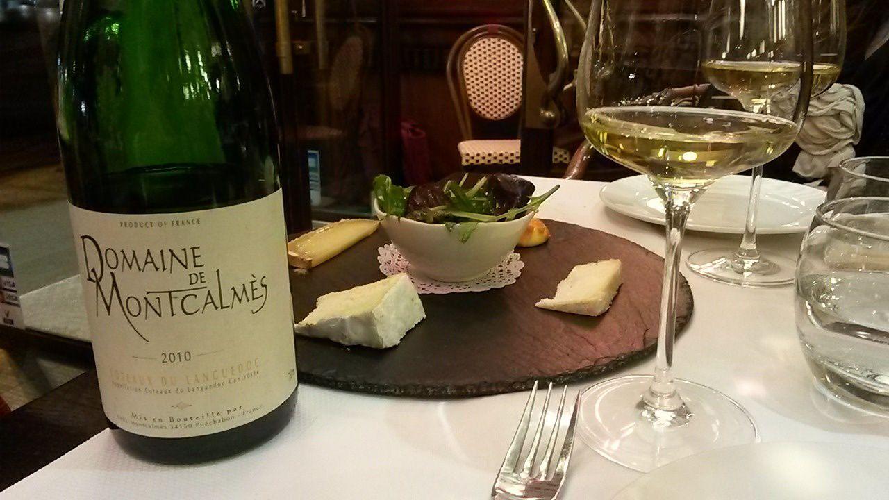 Les fromages réclament du vin blanc...