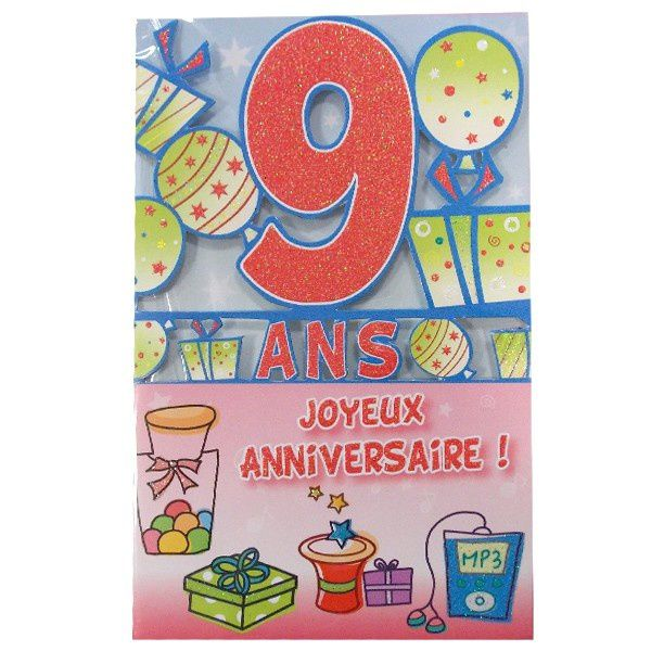 9 ANS !