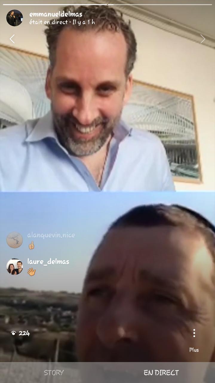 Instagram Live dans les vignes (Sancerre)