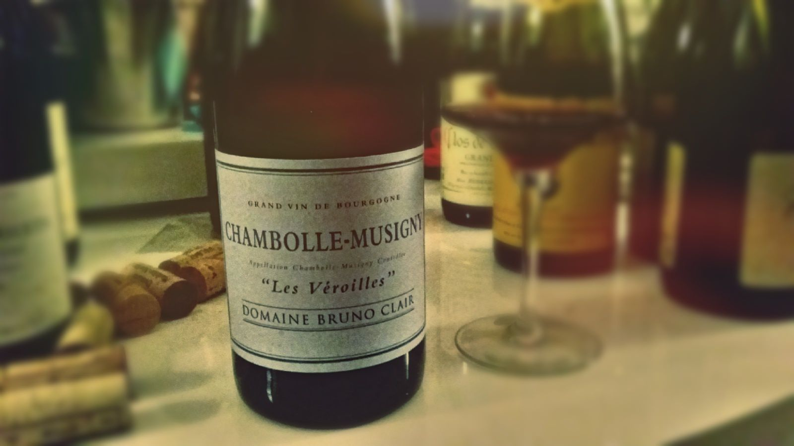 Chambolle Musigny 2013 de Bruno Clair