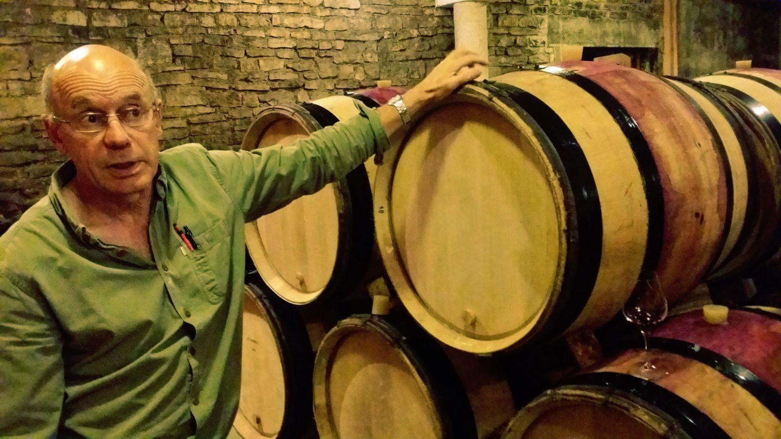 Un vigneron pointilleux, Frédéric Mugnier, qui ne laisse rien au hasard...