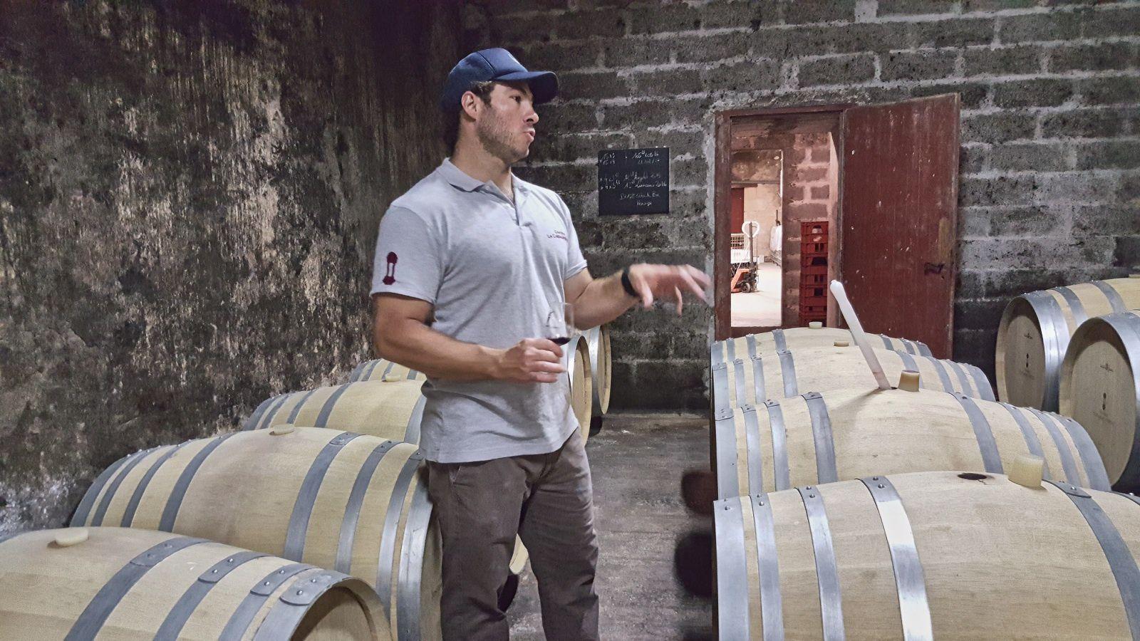 Nicolas Vergez, vigneron à Blaye- Cotes de Bordeaux, château Lacassagen Boutet ©EmmanuelDelmas