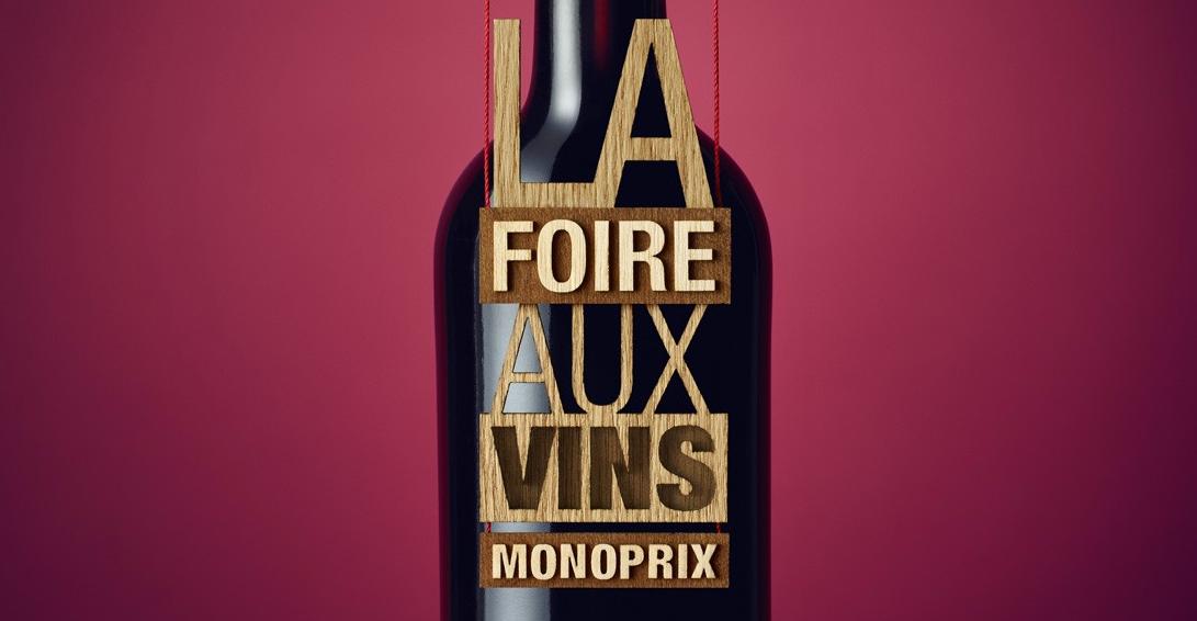 La Foire aux Vins Monoprix, très attendue car la qualité est au rendez-vous. Visuel capturé sur le site ©wecut.fr