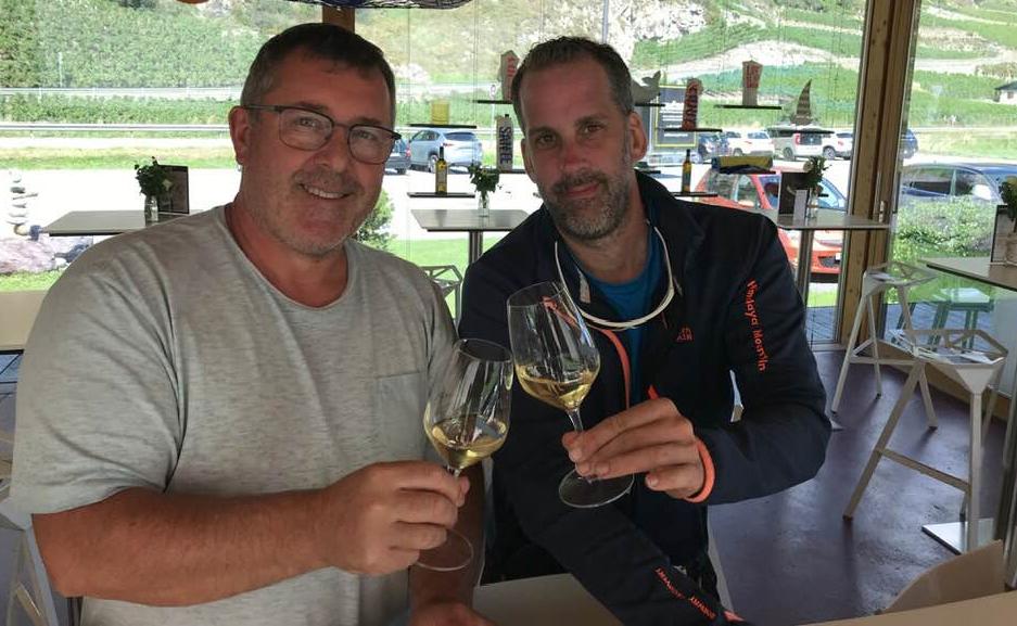Avec Gérard Dorsaz, vigneron à Fully en Valais Suisse, Vendredi 8 Mai à 18h sur mon Insta Live