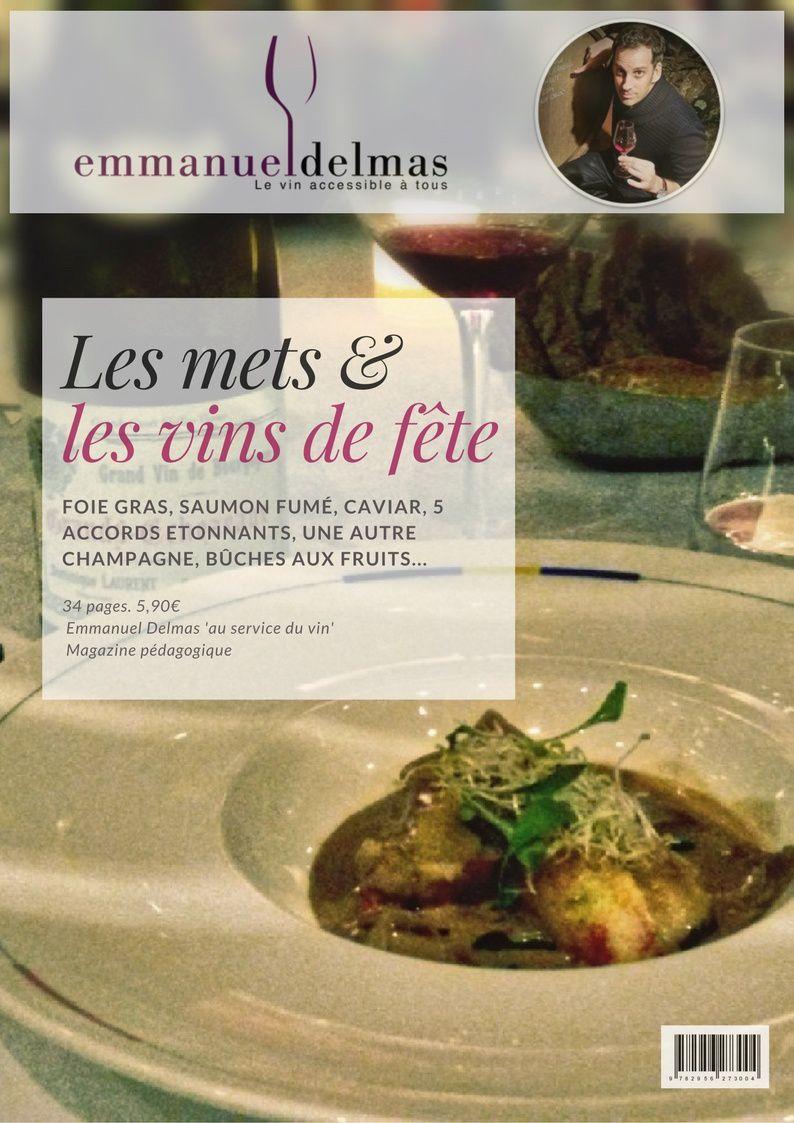 Magazine les accords mets & vins de fête