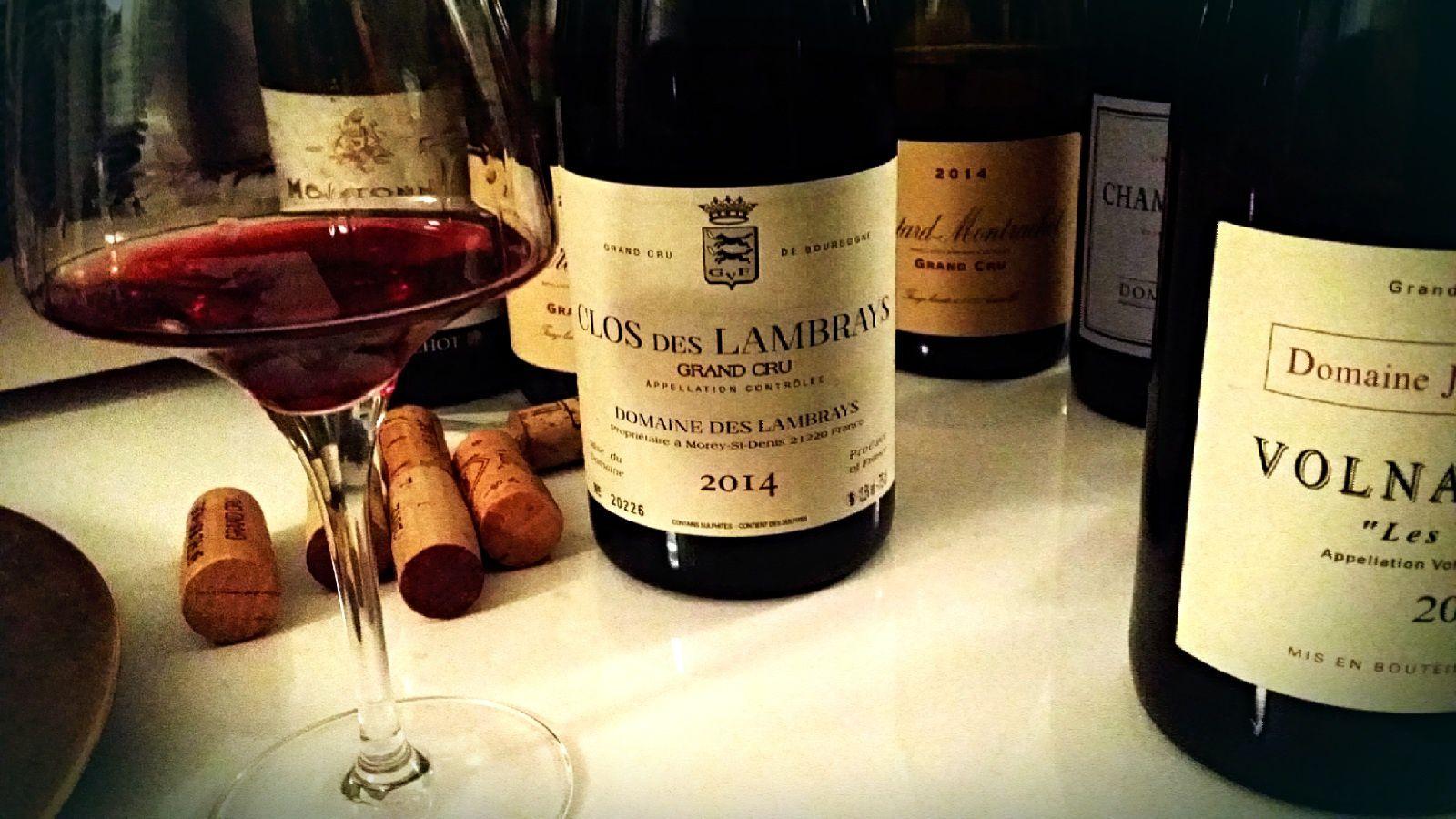 Clos des Lambrays 2014, domaine des Lambrays...un grand vin plein de promesses...©EmmanuelDelmas