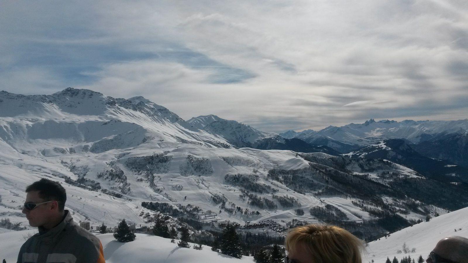 La neige, des paysages majestueux