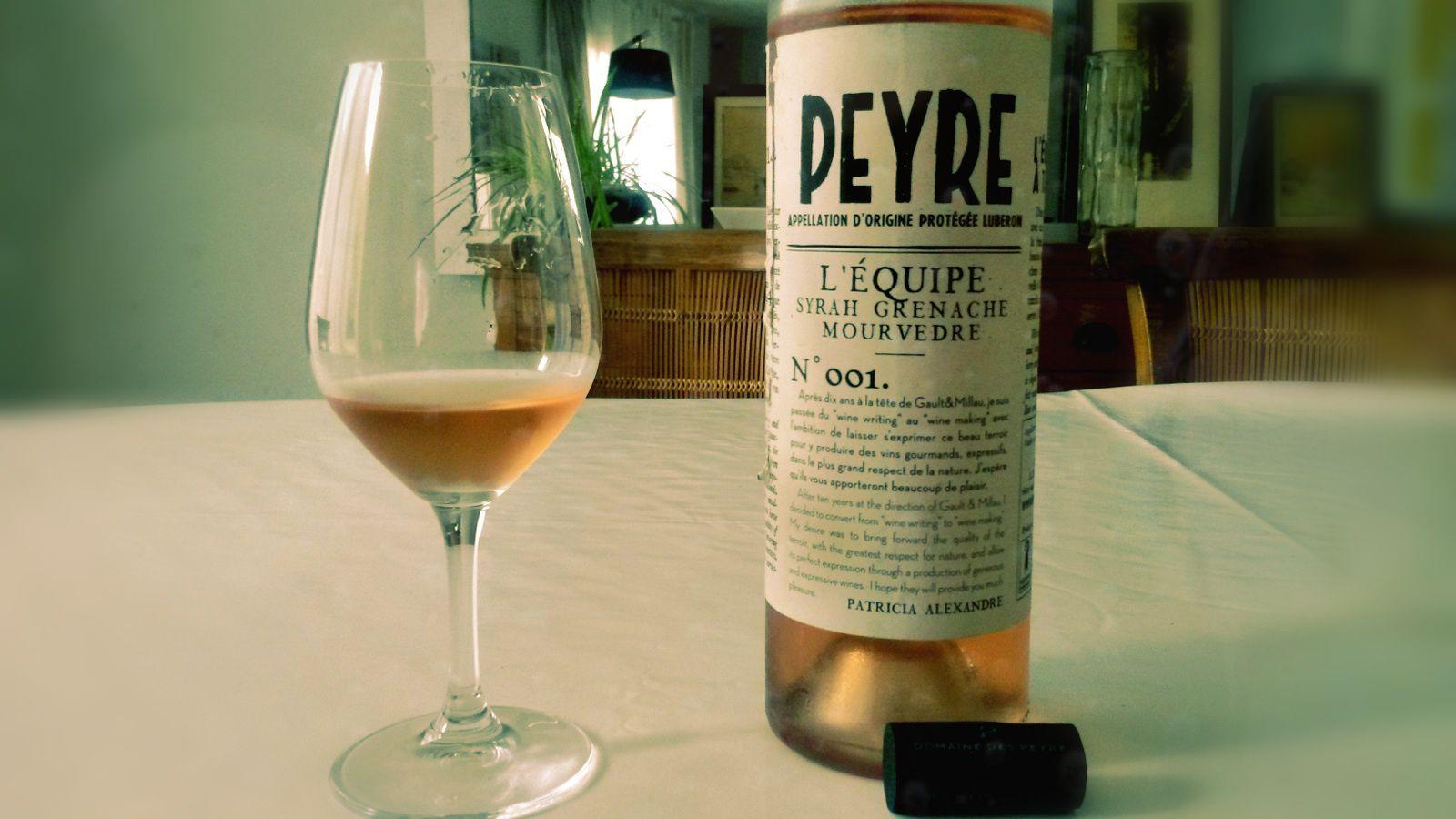 Domaine des Peyre rosé (©Emmanuel Delmas)