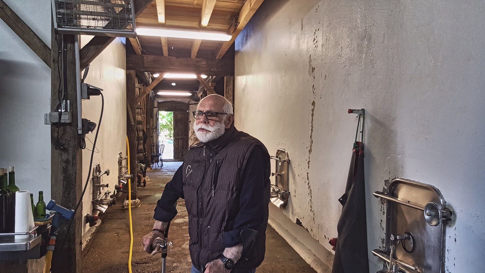 Adrien Tramier, vigneron à Bégadan au château Saint Saturnin ©EmmanuelDelmas