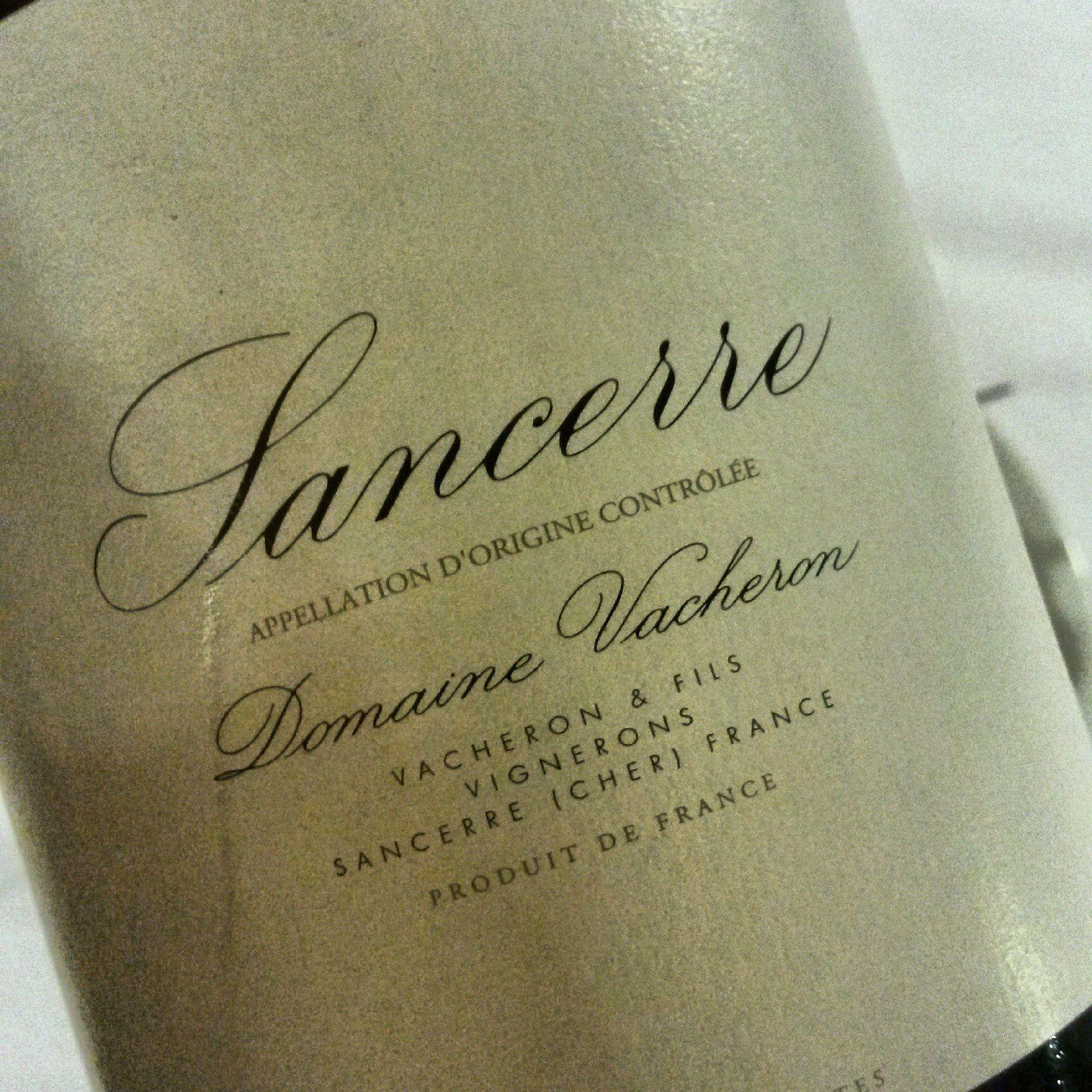 SANCERRE 2010, VACHERON