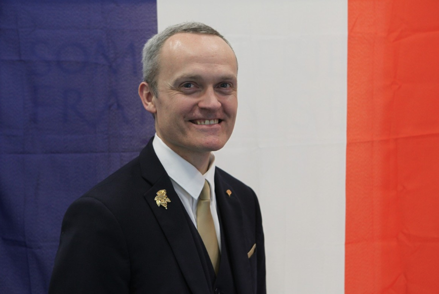 David Biraud est le représentant français pour le concours du meilleur sommelier du monde 2019. Photo ©Bullesgourmandes