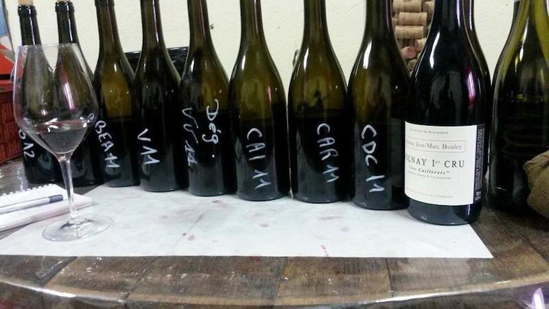 Les vins de Thomas Bouley à Volnay