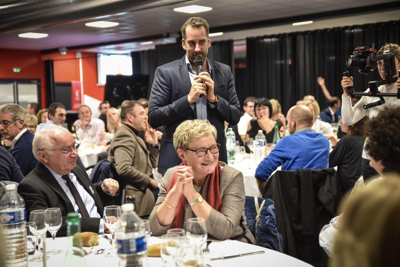 Dîner accords mets & vins avec dégustation pour le club de Guingamp au Stade du Roudourou ©EA Guingamp
