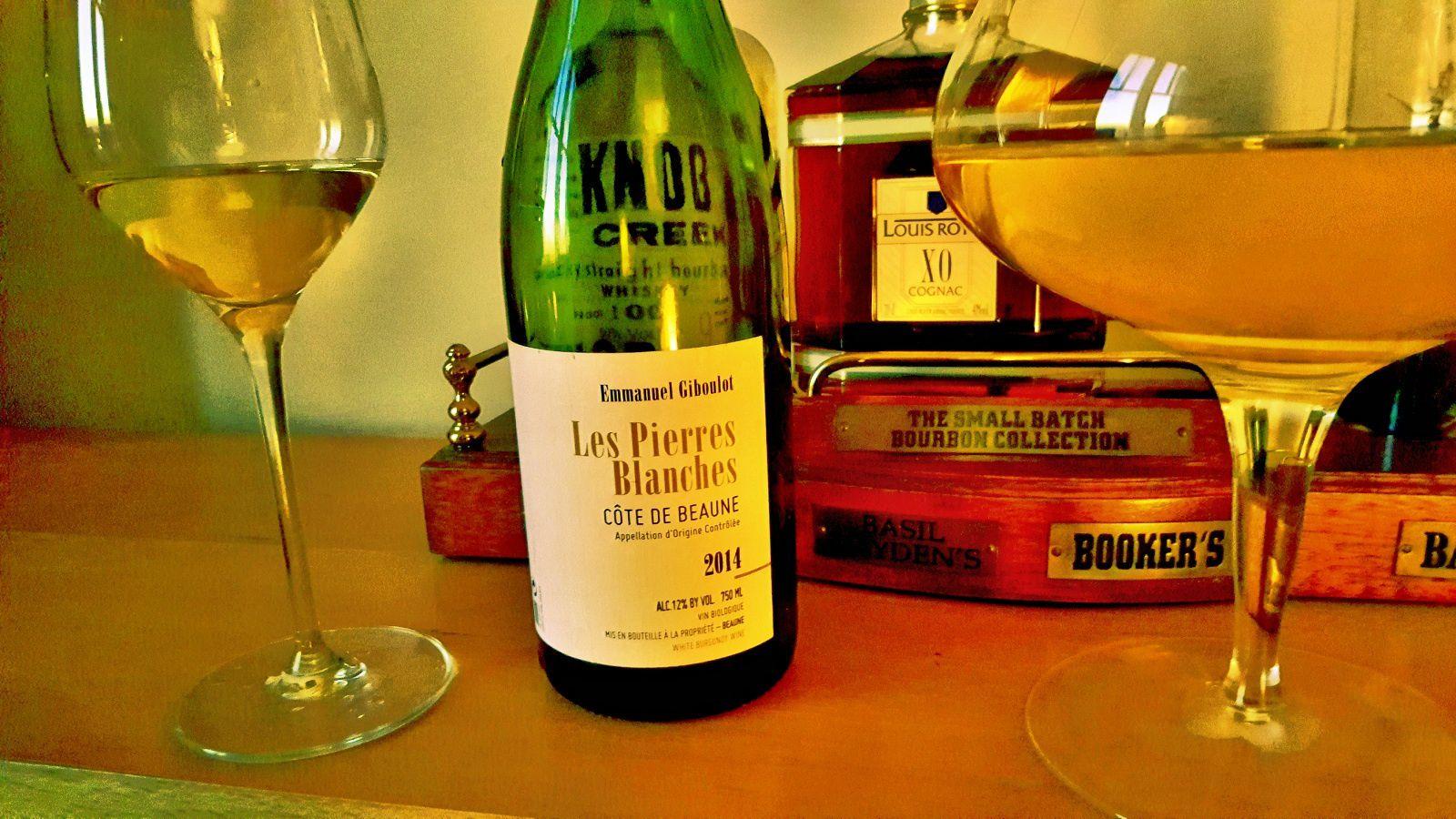 Un très joli vin blanc d'Emmanuel Giboulot