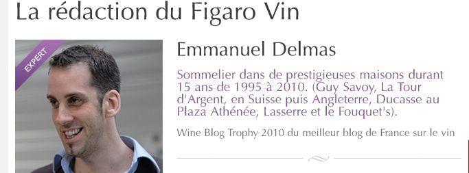 MES DERNIERS ARTICLES LE FIGARO-VIN