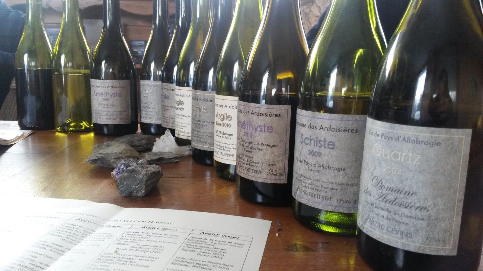 Le domaine des Ardoisières, à Cevins, révèle une gamme remarquable de vins à forte identité.