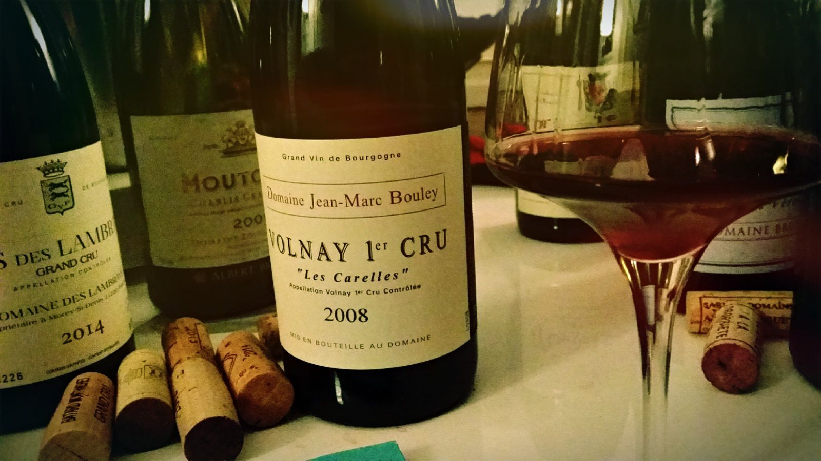 Volnay 1er cru 'les carelles', Thomas Bouley